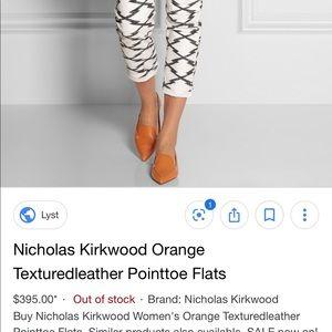 Nickolas kirkwood orange Pointed loafer